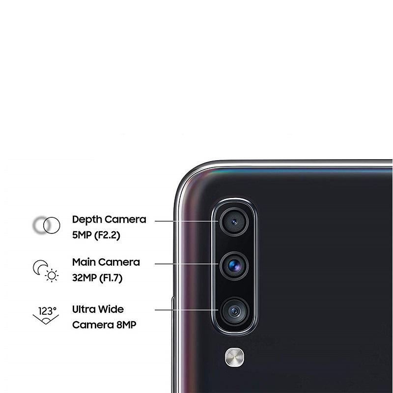 SAMSUNG Galaxy A70 Dual SIM 128GB Mobile Phone   گوشی موبایل سامسونگ مدل Galaxy A70 SM-A705FN/DS دو سیمکارت ظرفیت 128 گیگابایت