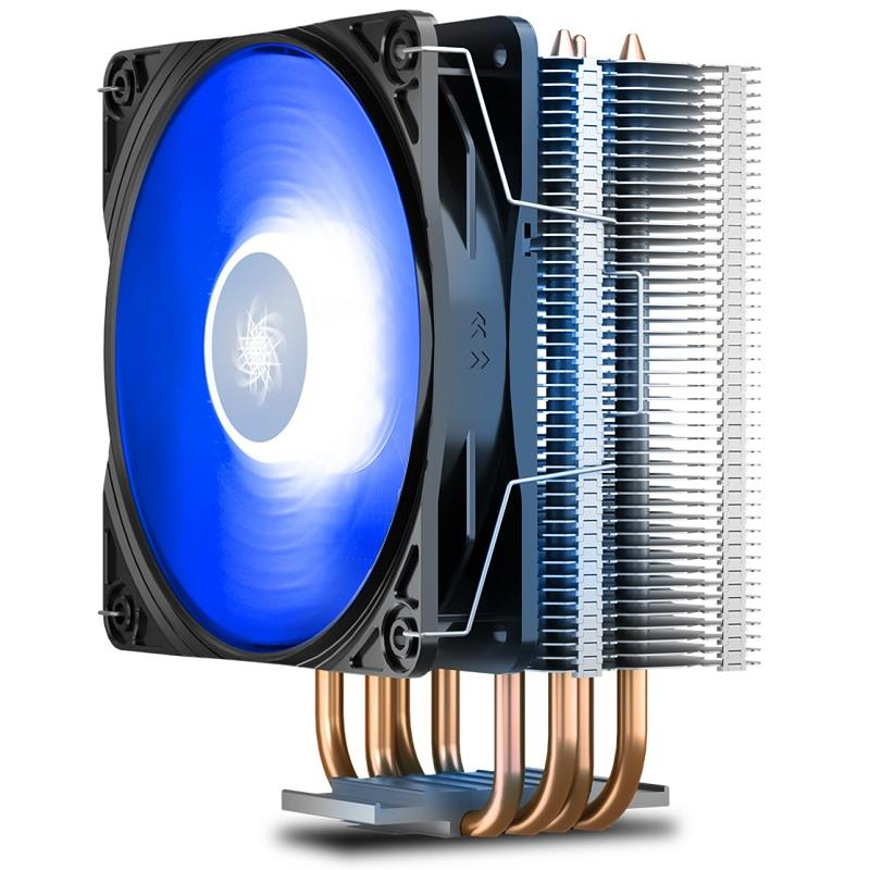 بهترین قیمت و خرید فن سی پی یو دیپ کول مدل GAMMAXX 400 دارای نور پردازی   DEEPCOOL GAMMAXX 400 CPU Air Cooler
