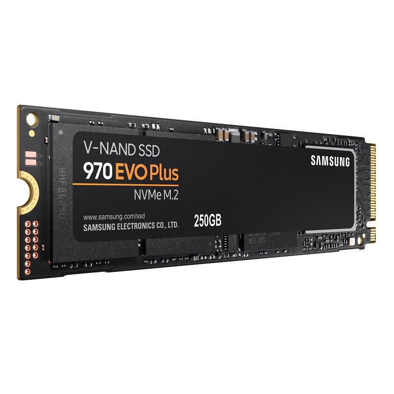 خرید اس اس دی اینترنال سامسونگ مدل 970 EVO PLUS ظرفیت 250 گیگابایت    SAMSUNG 970 EVO Plus NVMe M.2 250GB Internal SSD Drive
