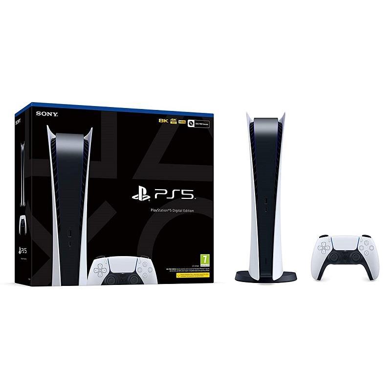 قیمت و خرید پلی استیشن 5 نسخه دیجیتال    قیمت و خرید پلی استیشن 5 سونی دیجیتال  SONY PlayStation 5 Digital Edition Game Console