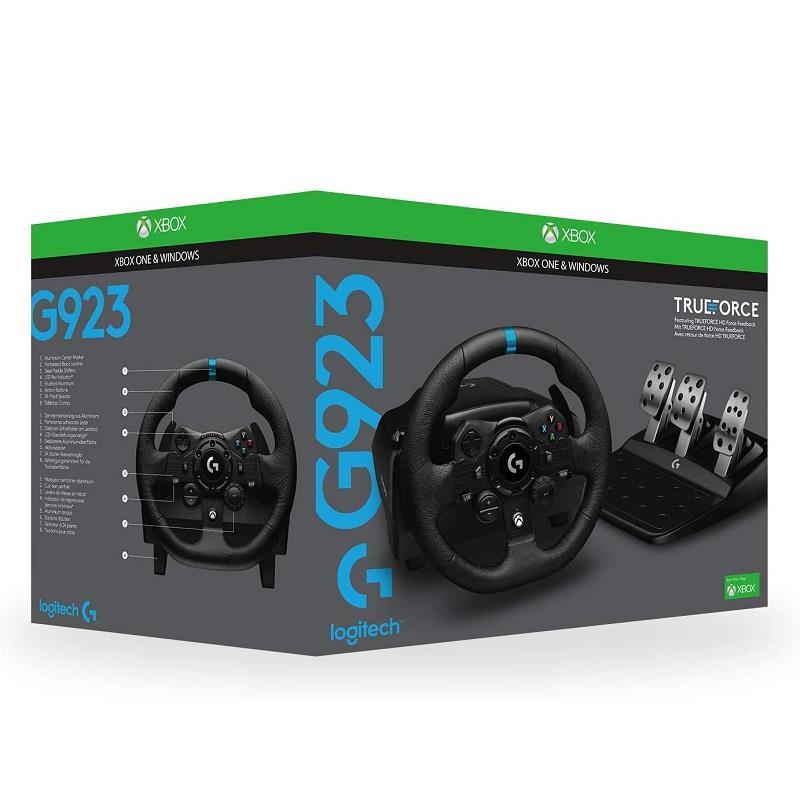 قیمت و خرید فرمان لاجیتک مدل G923 مخصوص ایکس باکس  LOGITECH G923 TRUEFORCE SIM RACING WHEEL FOR XBOX & PC