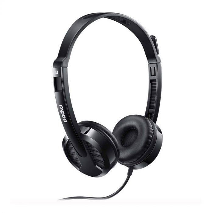 قیمت خریدهدست رپو H120 USB    Rapoo H120 Wired Stereo Headset