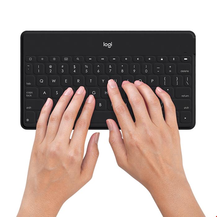 LOGITECH KEYS-TO-GO Ultra-light, Ultra-Portable Standalone Wireless Bluetooth Keyboard